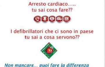 """Volontari Soccorso """"Amici"""" di Ponte di Legno: serate informative sull'uso del defibrillatore"""