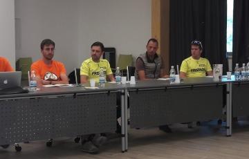 "Ballan, Zanchi e Berta  testimonial de ""I Bike Days"""