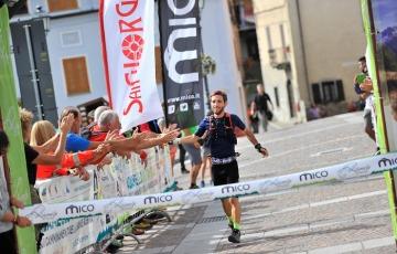 Luca Manfredi Negri vince l'Adamello Ultra Trail 2018