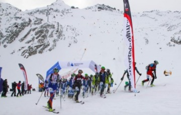Passo Tonale: in 700 al via dell'Adamello Ski Raid