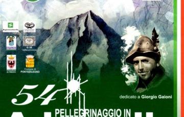 Il 54° Pellegrinaggio in Adamello dedicato al professor Gaioni