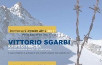 Vittorio Sgarbi e Luigi Ottoni a Ponte di Legno