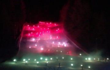 Grande festa e spettacolo nella notte di San Silvestro a Ponte di Legno