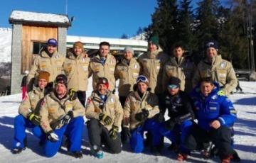 Sci alpino, i campioni si allenano a Ponte di Legno