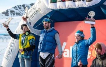 Passo Tonale, Luca Simonini vince l'edizione 2020 della Winter Downhill