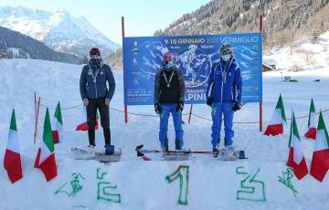 Vermiglio, assegnati i titoli italiani giovani skialp: negli Under 23 trionfano Prandi e Murada