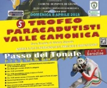 Passo Tonale, ecco il 5° trofeo Paracadutisti della Valle Camonica
