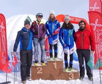 Adamello Ski Raid junior: trionfano Daniele Corazza e Lisa Moreschini