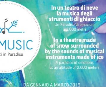Ice Music Festival a Passo Paradiso. Il programma