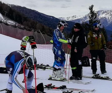 I campioni dello sci di Italia, Svezia, Finlandia e Slovacchia a Ponte di Legno
