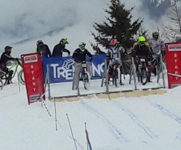 Al Passo Tonale la settima edizione de La Winter Downhill