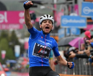 Giro d'Italia 2019: Giulio Ciccone vince a Ponte di Legno