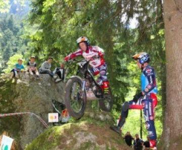 Campionato italiano di Trial, spettacolo a Ponte di Legno