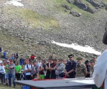 Raduno degli alpini al Montozzo