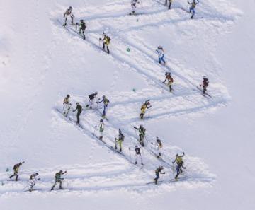 Scialpinismo: gli azzurri preparano la stagione al Passo del Tonale