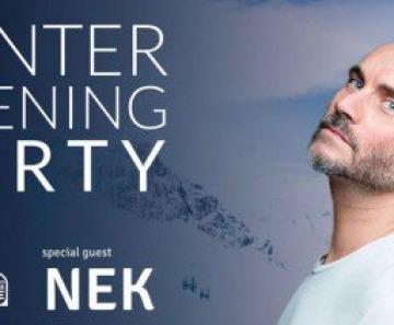 Winter Opening Party: Nek a Ponte di Legno il 7 dicembre