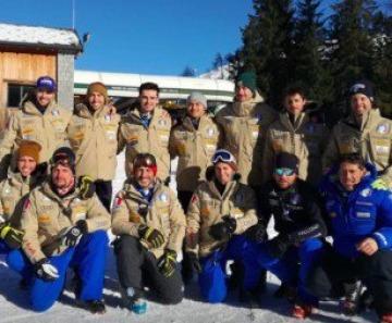 Sci alpino, la squadra azzurra di Coppa Europa si allena a Ponte di Legno